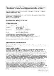 Umweltschule in Europa / Internationale Agenda 21-Schul - LBV