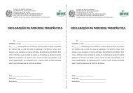 declaração de parceria terapêutica declaração de parceria terapêutica
