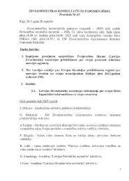 ZIVSAIMNIEClBAS KONSULTATIVAS PADOMES SEDES Protokols ...