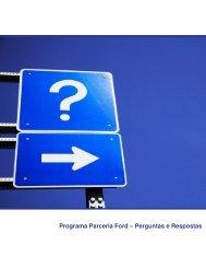 Programa Parceria Ford – Perguntas e Respostas - SINPRF-RJ