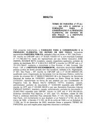 TERMO DE PARCERIA - Secretaria do Meio Ambiente