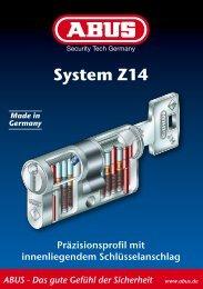 Das gute Gefühl der Sicherheit www.abus.de System Z14