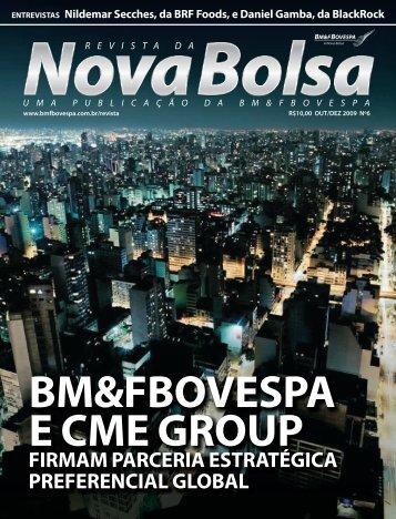 firmam parceria estratégica preferencial global - BM&FBovespa