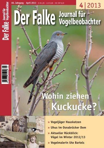 Bericht zum LBV-Kuckuck-Projekt