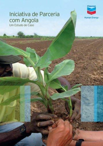 Iniciativa de Parceria com Angola - a Chevron em - Início