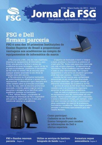 FSG e Dell firmam parceria - Faculdade da Serra Gaúcha