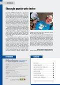 Uma parceria entre educação e saúde - Morhan - Page 2