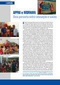 Uma parceria entre educação e saúde - Morhan - Page 6
