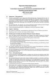 Allgemeine Einkaufsbedingungen Controlmatic ... - Actemium