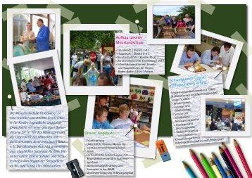 Aufbau unserer Mooslandschule - Lebenshilfe Bühl eV