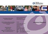 Ambulanter Pflegedienst - Lebenshilfe-Gifhorn