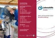 Berufliche Bildung - Lebenshilfe Nienburg