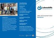 Mehr Gemeinsamkeit leben! Betriebsrat - Lebenshilfe Nienburg