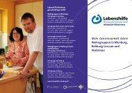Wohngruppen - Lebenshilfe Nienburg