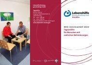 Tagesstätte - Lebenshilfe Nienburg