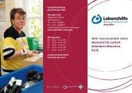 Werkstatt P.U.R. - Lebenshilfe Nienburg