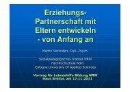 Vortag M.Verlinden Erziehungspartnerschaft - Lebenshilfe NRW