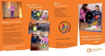 Pädagogischer Fachdienst für Kindertagesstätten PFIFF ...