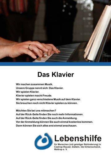 Klavier - Lebenshilfe Waltrop