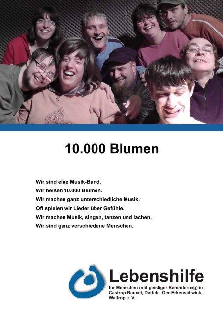 10.000 Blumen - Lebenshilfe Waltrop