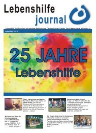 Ausgabe 01-12 - Lebenshilfe Waltrop