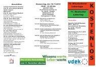 10.Wiesbadener Lebertage 2010 - Deutsche Leberhilfe eV