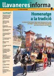 Primera fase de la reforma - Ajuntament de Sant Andreu de ...