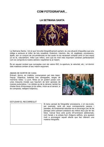 Setmana Santa - Ajuntament de Gelida