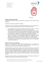 Rote-Hand-Brief zu INCIVO - BfArM