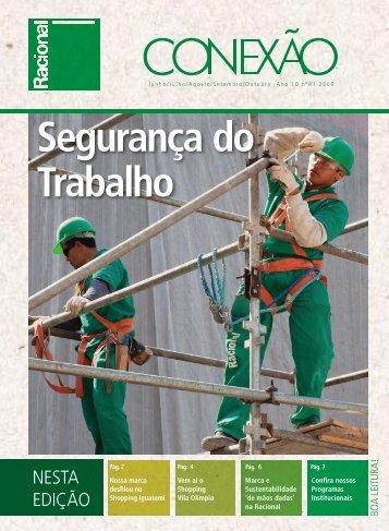 Conexão 41 - 2009 - Junho / Julho / Agosto - Racional Engenharia