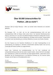 """""""G8-so-nicht""""! - Landeselternbeirat von Hessen"""