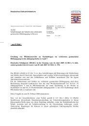 G8-Erlass - Landeselternbeirat von Hessen