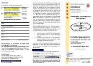 Elternrecht und Elternmitwirkung - Landeselternbeirat von Hessen