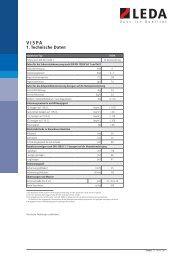 VISPA Technische Daten - Leda