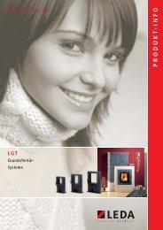 LGT Grundofentür-Systeme Produkt-Information (PDF, 512 kB) - Leda
