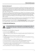Bedienungsanleitung CARISMO Gas-Kamineinsatz - Leda - Seite 7