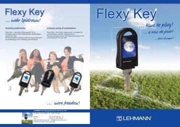 Flexy Key - bei Lehmann