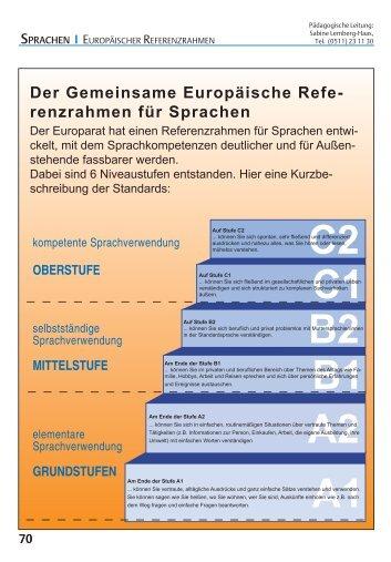 Programmbereich 4 (Sprachen) - Leine VHS