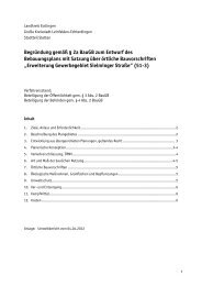 Anlage 3 - Begründung - in Leinfelden-Echterdingen