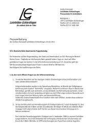 Fragen und Antworten - in Leinfelden-Echterdingen