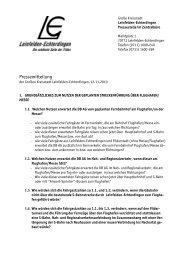 Der Fragenkatalog - in Leinfelden-Echterdingen