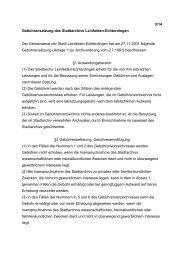 Gebührensatzung des Stadtarchivs vom 27.11.2001 - in Leinfelden ...
