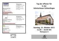 18.00 Uhr - in Leinfelden-Echterdingen