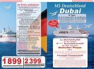 MS Deutschland - LEITNER Reisen
