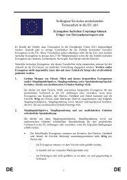 Merkblatt zur EU-Verordnung - LEITNER Reisen