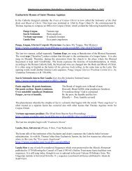Dr. Tom Kelly- A Handout on the Reflection - Home - Magdalene ...