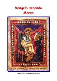 Vangelo secondo Marco - Le Famiglie della Visitazione