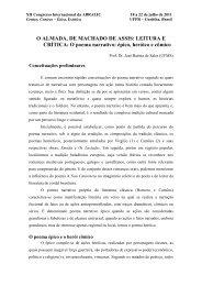 O ALMADA, DE MACHADO DE ASSIS: LEITURA E ... - Abralic