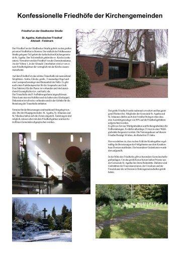 Fotos Friedhof - Bestattungen Lenert