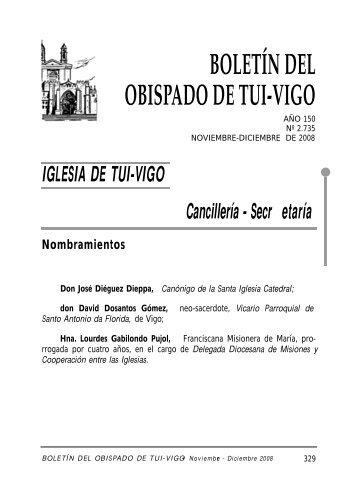 Diciembre 2008 - Diocese de Tui-Vigo